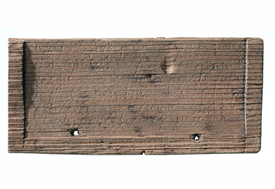 debt collection of unpaid invoices is as old as the Romans